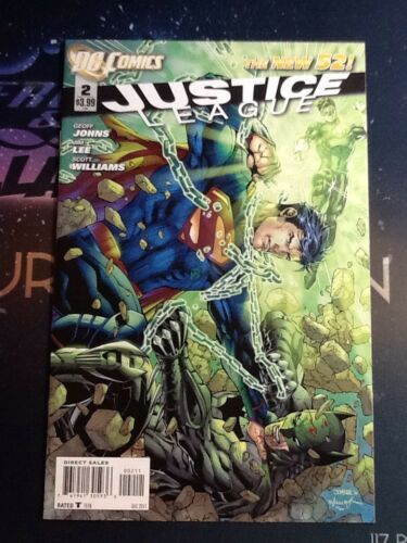 2011 Justice League DC #2 VF//NM JL096