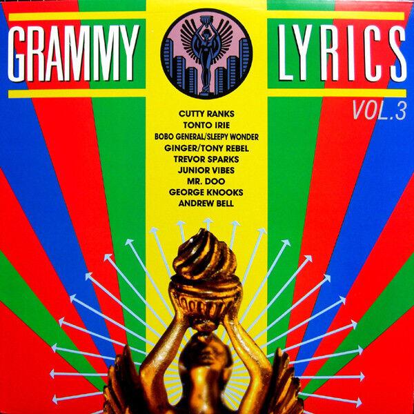 Grammy Lyrics Vol 3 - Various Artist - NEW LP