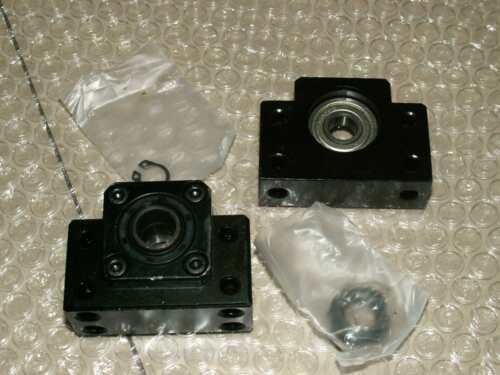 anti backlash 20mm ballscrew RM2005-1000mm-C7+1 set BK//BF15 end support bearing
