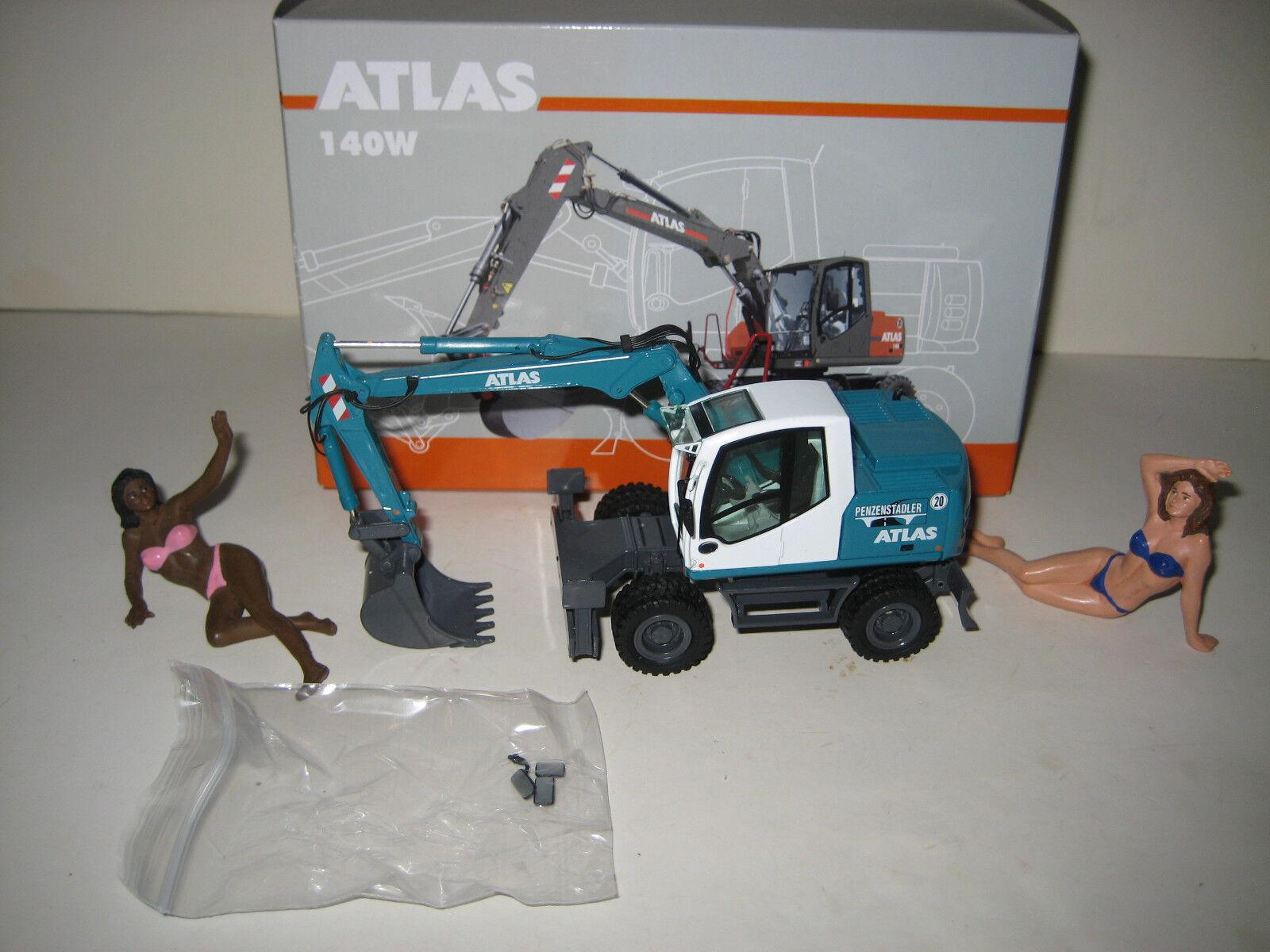 ATLAS 140 W BAGGER TIEFLÖFFEL PENZENSTADLER  837.2 NZG 1 50 OVP LIMITED EDITION  | Neuer Stil