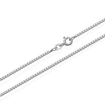 Echte 925er Sterlingsilber Venezianerkette Silberkette 55cm 0,90mm 2,8gr 5972