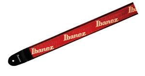 Ibanez Design Gitarrengurt GSD50-P12 Ibanez Logo rot, Nylongurt - München, Deutschland - Ibanez Design Gitarrengurt GSD50-P12 Ibanez Logo rot, Nylongurt - München, Deutschland