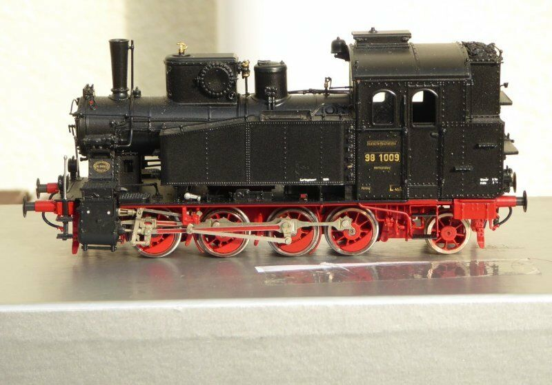 H0 Gebhard Reitz Modellismo Tender-Dampflok Serie Br 98 1009 DRG Ep2 Bw