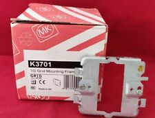 Mk K3701 1G Gird Mounting Frame Grid Plus Plate New For Switches