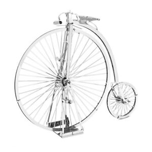 Metal-Earth-1087-Penny-Farthing-3D-Metal-Kit-Silver-Edition