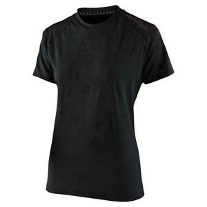 Troy-Lee-Designs-Lilium-Women-039-s-Jersey-Floral-Black-Medium