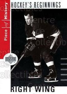 2002-03-UD-Piece-of-History-Hockey-Beginnings-4-Gordie-Howe