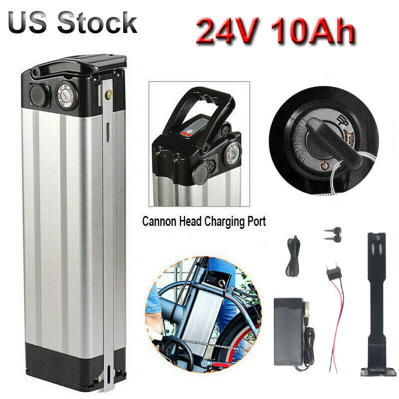 36V//48V 10//12.5//15AH  Lithium Battery Rear Rack Li-ion E-bike Bicycle 500W ZL