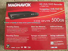 TV Antenna OTA HD 1080p 500gb HDD DVR DVD DVDR Recorder Player ATSC C-QAM Tuner