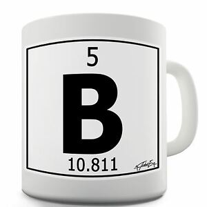 Twisted envy periodic table of elements b boron ceramic tea mug image is loading twisted envy periodic table of elements b boron urtaz Images