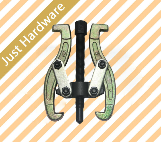 """3"""" 4"""" 6"""" 8"""" Bearing Gear 2 Jaw Puller Remover Drop Forged Reversible Jaws New"""
