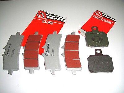 37sc Pastiglie Freno Brembo Anteriori+posteriori Aprilia Rsv4 Factory Aprc 2012