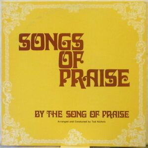 THE-SONG-OF-PRAISE-Songs-of-Praise-LP-Youth-Choir-Byron-Spradlin-amp-Ted-Nichols