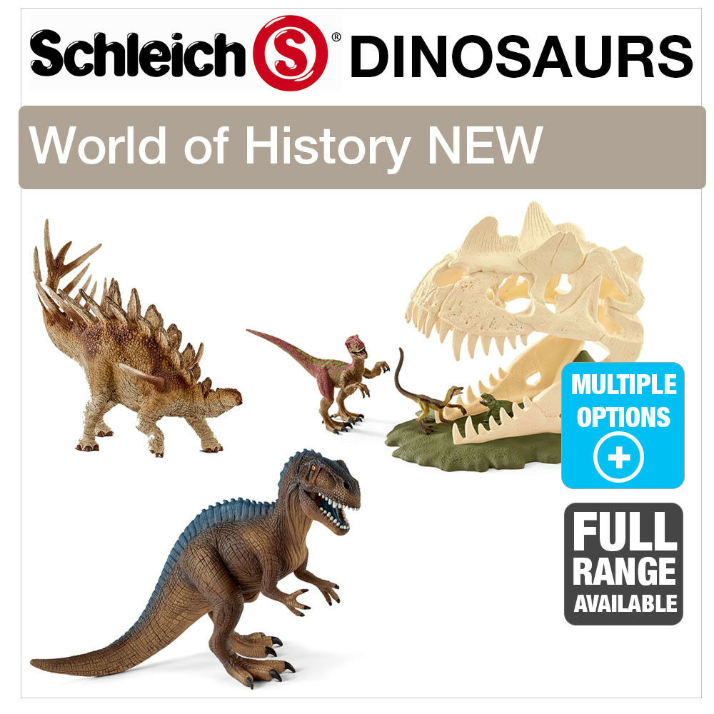SCHLEICH 2017 WORLD WORLD WORLD OF HISTORY DINOSAURS FIGURES PREHISTORIC FIGURINES & TOYS 6e3c39