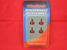 Traxxas Aluminum Shock Caps Red Slash 4x4 3767X