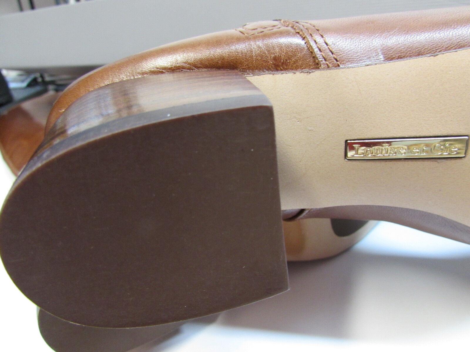 Louise Leder et Cie Größe 7.5 M Whiskey Tan Leder Louise Stiefel New Damenschuhe Schuhes b538f9