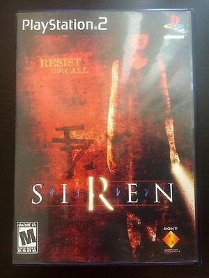 Siren PS2 PlayStation 2 2004 Complete Case & Game