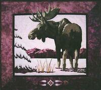Moose 'n Spruce Wildlife Animal Wildfire Designs Alaska Quilt Pattern