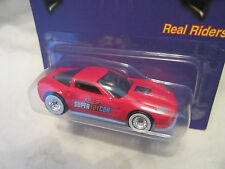 Hot Wheels CUSTOM '09 CORVETTE ZR1 2016 Las Vegas Con. Real Riders 1/25 Made