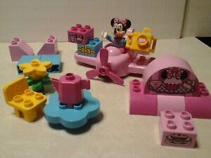 LEGO-DUPLO-DISNEY-MINNIE-MOUSE-MINNIE-039-S-CAFE-10830-INCOMPLETE