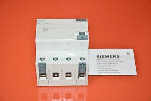 Siemens 5SV3344-6 fi Protection Switch 4polig