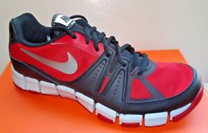 NIKE Flex Show TR 3 Men's Ankle High Running Shoes 684701-600 Red/Black Sz 8