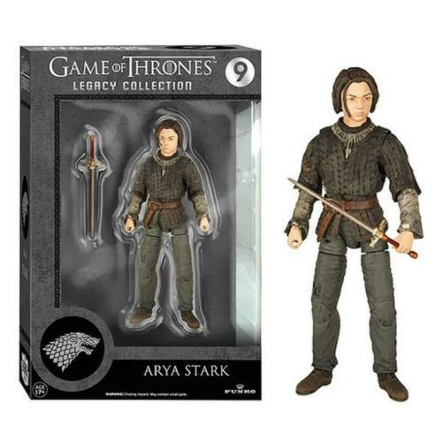 """FUNKO Game of Thrones Arya Stark Legacy Collection 6/"""" Action Figure"""