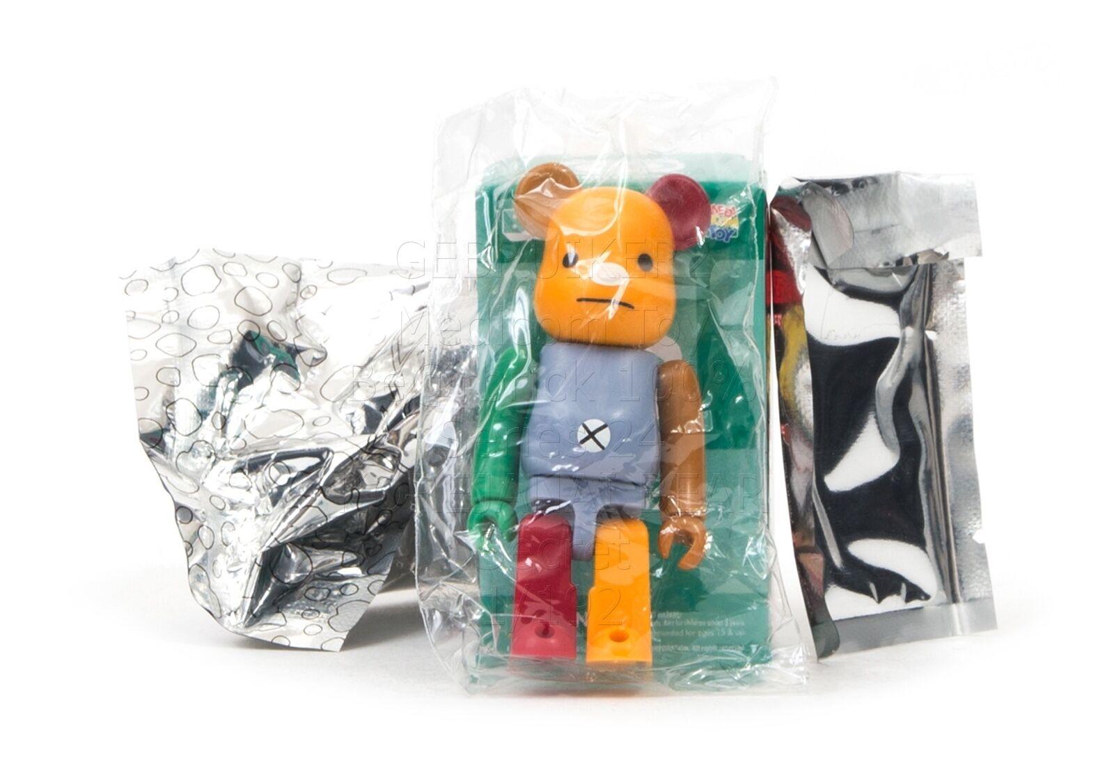 Medicom Toy Bearbrick Series 24 SECRET ZARIGANIWORKS korejanai bear brick 100%
