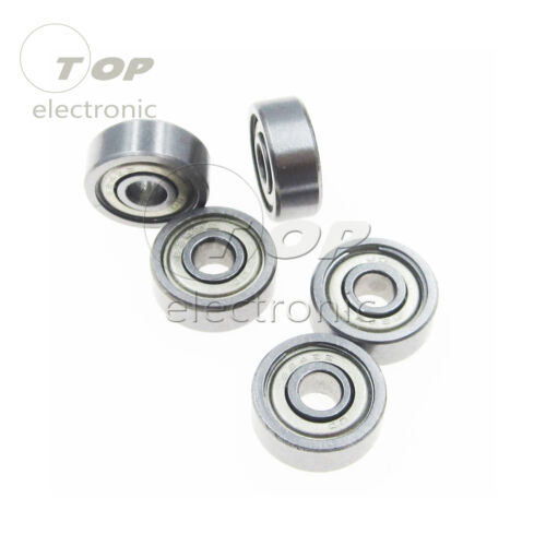 5PCS 624ZZ Mini Metal Double Shielded Flanged Ball Bearing For 3D Printer Parts