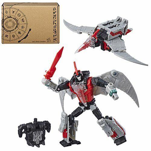 Transformateurs De Puissance des primes Deluxe Dinobot rouge SWOOP Figure New in Box//Scellé