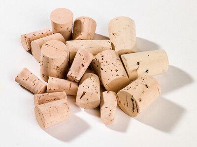Flaschenverschlüsse & Korken Spitzkorken 22 Mm X 11/8 Mm Aus Natur Kork Für Reagenzglas 100 Stück Korken Bar & Wein-accessoires