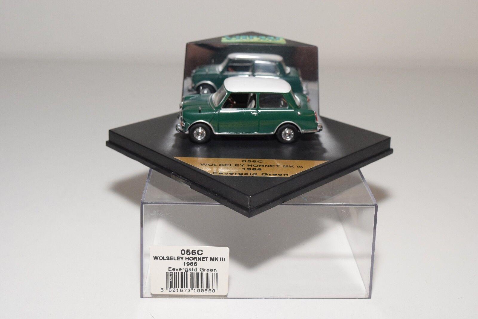VITESSE 056C 056 C WOLSELEY HORNET MKIII MK III EEVERGALD verde MINT BOXED