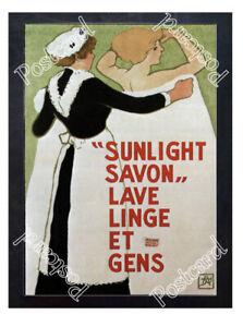 Historic-Sunlight-Savon-1910-Advertising-Postcard