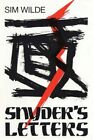 Snyder's Letters 9781450245005 by SIM Wilde Paperback