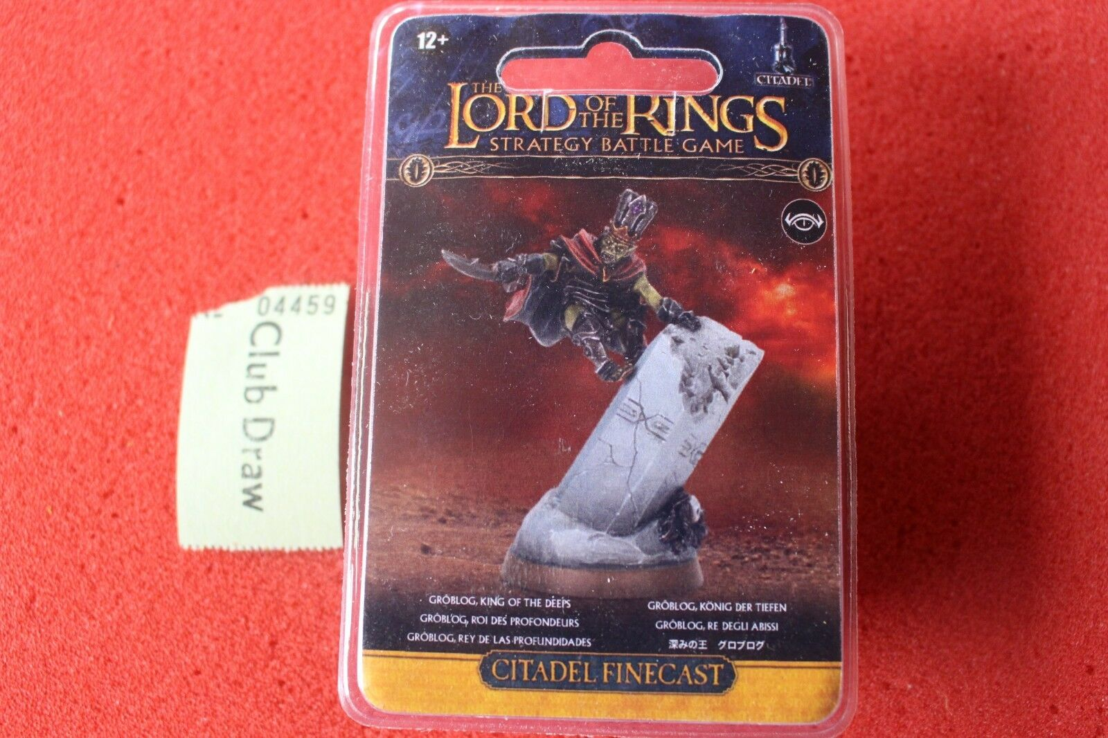 Games Workshop Lord of the Rings Goblog LoTR BNIB New Sealed King of Deeps GW
