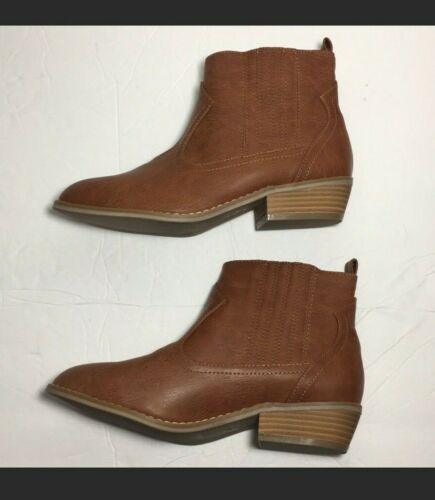 Details about  /Brown Western Boots Womens size 6.5 Universal Thread Cognac Georgia