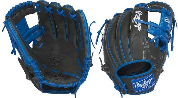 Rawlings pronp 5-2DSR 11.75  Heart of the hide Negro Azul Ltd Ed Guante de béisbol