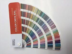 Set COLOR CMYK RAL - Color Guide RAL for Digital Print - Coated ...