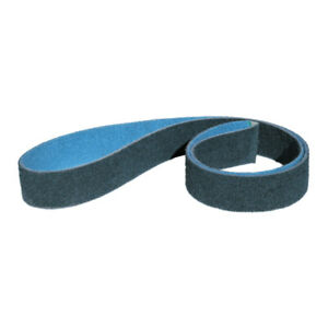 """5 PACK 1-1//2/"""" x 30/"""" Surface Conditioning Pipe Sanding Belts Gray Ultra Fine"""