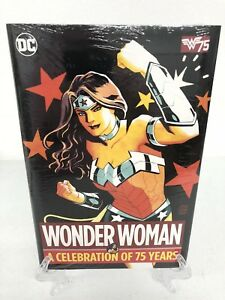 Wonder-Woman-A-Celebration-of-75-Years-DC-Comics-Hard-Cover-HC-New-Sealed