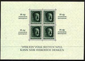 Germania-1937-Norimberga-CONGRESSO-SHEETLET-SGMS-638-STC-CV-400-1v-UM-FRANCOBOLLI
