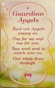 """""""guardian Angels's Keepsake Carte Neuve Avec Enveloppe-afficher Le Titre D'origine Un RemèDe Souverain Indispensable Pour La Maison"""