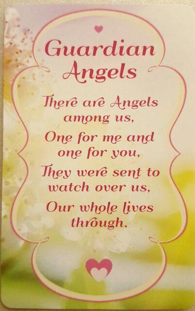 'Guardian Angels' Keepsake card New with envelope