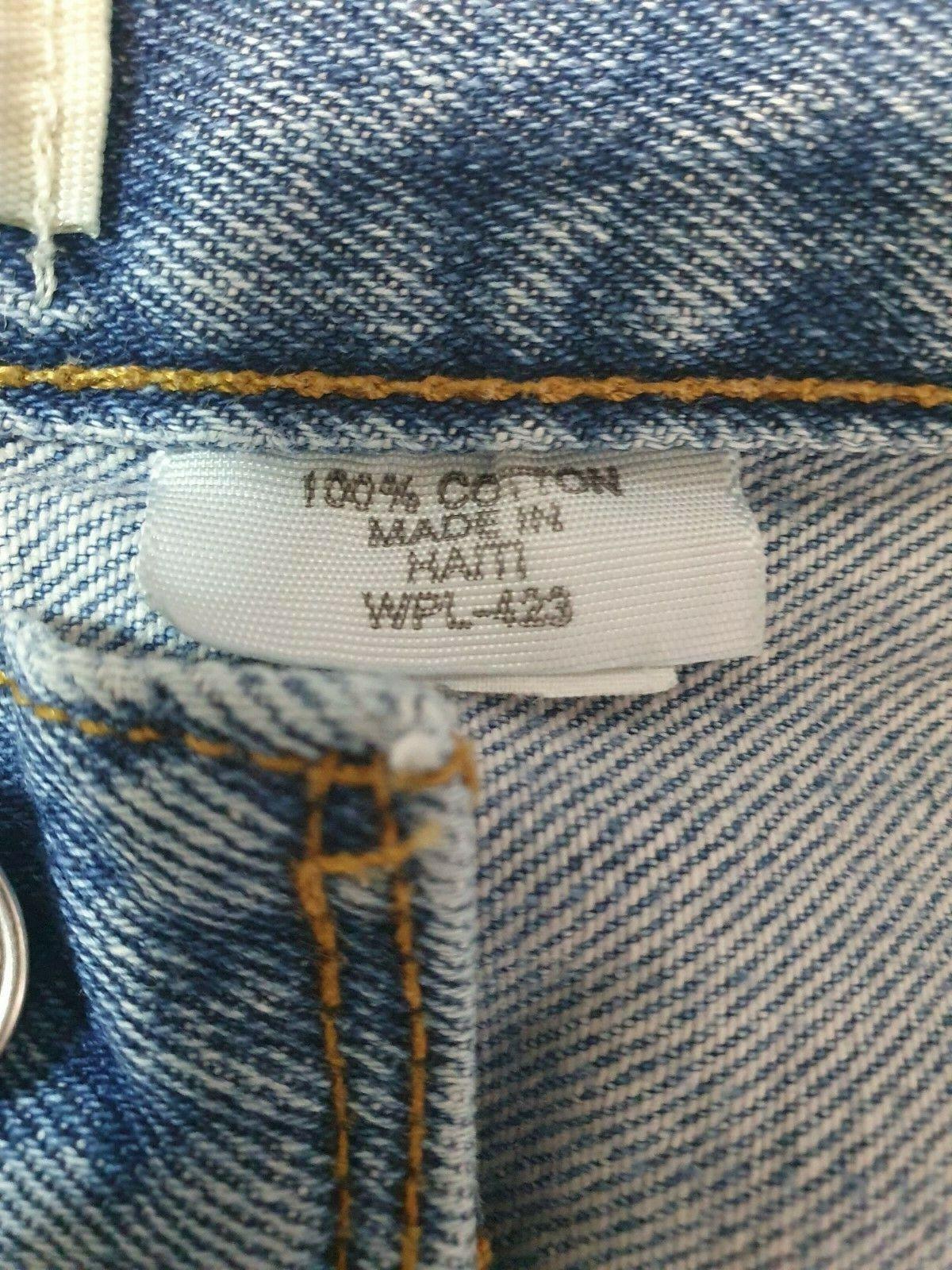Vintage  Levis 501 XX Jeans Mens 36x30 Distressed… - image 8