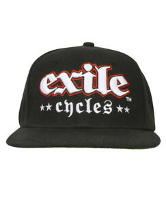 Exile-Cycles-Russel-Riding-Official-Merchandise-Baseball-Cap-Custom-Motorcycle