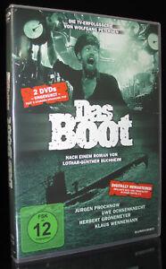 DVD DAS BOOT - UNGEKÜRZTE TV-FASSUNG - 6 TEILE - 2 DISC-SET - 282 Minuten * NEU