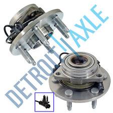 (2) Front Wheel bearing & Hub 2007-2014 Avalanche Suburban Cadillac Escalade 4x4
