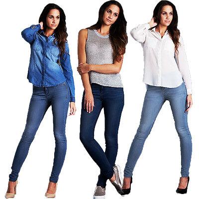 9274bb1fe96c Ladies Denim Lara skinny jeans Pant Womens Jeans Trousers Jegging Size 8 -  18 | eBay