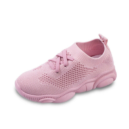 Kid Boys Girls Child Air Sport Sneakers Athletic Tennis Shoes Running Size 10-4