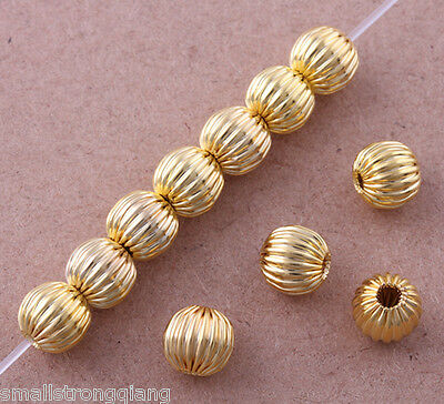 NEW ARRIVAL 30PCS 14MM GROOVE ROUND STRIPED WOODEN BEADS FOR JEWELLERY MAKING